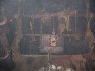 Fire Pits Prop Skull