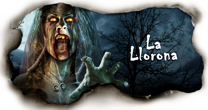la llorona is a latin american urban legend about a woman who drowns her kids in a river because her husband left her for a younger woman
