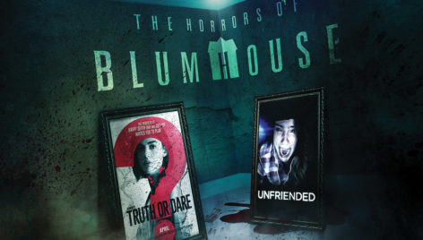 Halloween Horror Nights 2019 Poster.The Horrors Of Blumhouse Chapter Two Halloween Horror