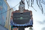 Altars of Horror Blumhouse Sign