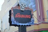 Altars of Horror Shining Sign