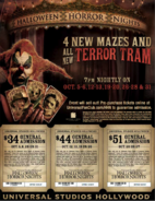HHN 2007 Tickets