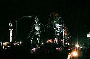 Festival of the Dead Skeleton Float