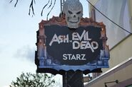 Altars of Horror Ash vs. Evil Dead SIgn