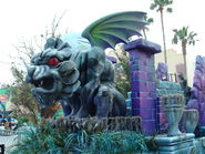 Midway of the Bizarre Gargoyle Float