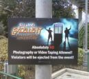 Photography Ban at Bill and Ted's Excellent Halloween Adventure