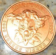 HHN X Orange Parade Coin Front