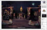 Port of Evil Digital Illustration