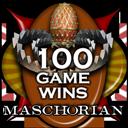 Maschorian-100-wins