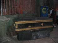 Body Collectors Facade Coffin