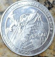 HHN X Silver Parade Coin Back