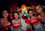 Jack the Clown Cheerleaders