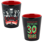 Retro Fright Nights 1990 Monsters Shot Glass