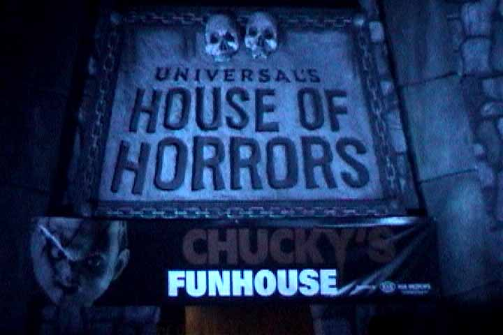 FUNHOUSE OF HORRORS: The House Of Horrors
