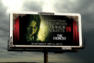 HHN 26 Exorcist Billboard