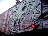 Fright Yard Graffiti 2