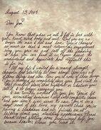 Disorientorium Letter