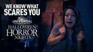 We Know What Scares You – Universal Orlando's Halloween Horror Nights 30 Teaser -Version 2-