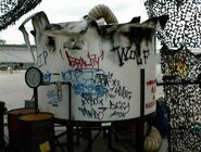 HHN XIV Fright Yard Graffiti 3