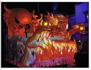 HHN 1997 Fire Parade Float