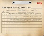 Fright Nights Archive Registry