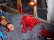 HHN Screamhouse Dead Body