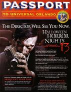 HHN 13 Passport