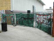 HHN XIV Fright Yard Graffiti