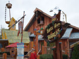 Popeye and Bluto's Bilge-Rat Barges Queue