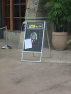 Fear Factor Entrance Sign