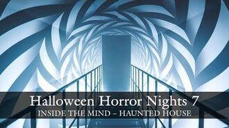 Inside The Mind haunted house walkthrough - Halloween Horror Nights 7 HHN7 2017