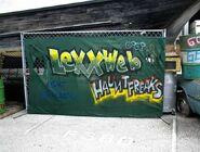 HHN XIV Fright Yard Graffiti 7