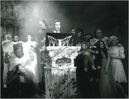Fright Nights Black and White Picture