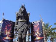 Mummy Ride Statue