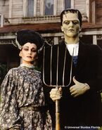 Frankensein and Bride