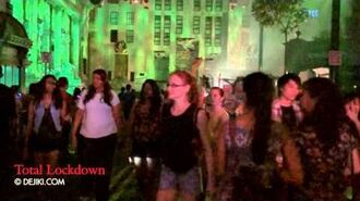 Total Lockdown scare zone revisited - Halloween Horror Nights 2
