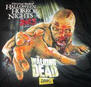 HHN 2013 Walking Dead Shirt