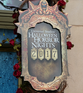 HHN 27 Tribute Store Sign