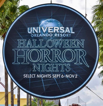 HHN 29 Front Gate Sign