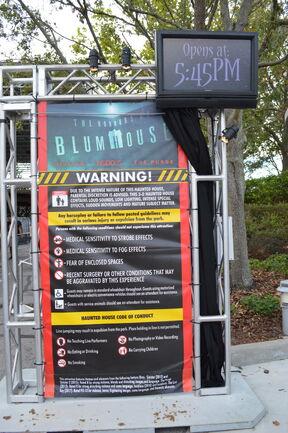 Blumhouse Sign