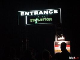 Project Evilution Sign