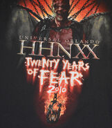 HHN XX Fear Shirt