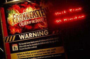 Frankenstein Sign