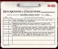 HHN 2004 Archive Registry