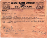 Ghost Town Telegram