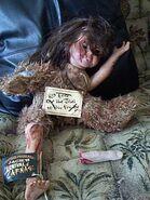 HHN CoC Doll MEdia Gift