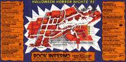 HHN 1993 Map