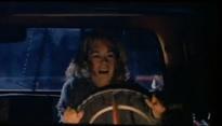Rachel drives