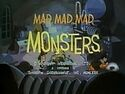 Mad mad mad monsters title screen