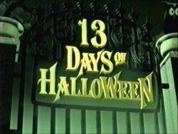 13 Days of Halloween 1999